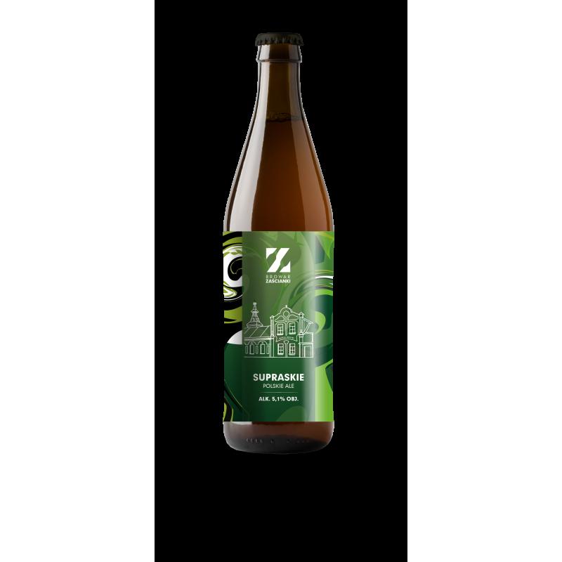 Piwo Supraskie butelka 0,5L